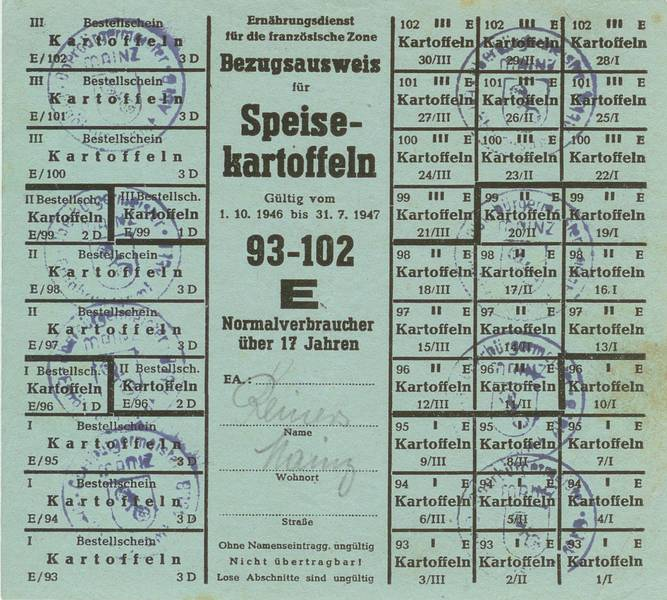 Image result for kartoffeln zweiter weltkrieg